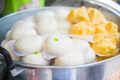 Китайские плюшки и Mantou Стоковое Фото
