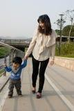 китайские семьи Стоковое фото RF