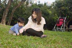 китайские семьи Стоковые Фото