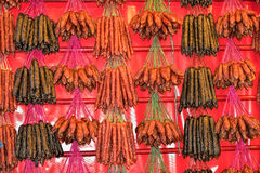 китайские сосиски Стоковые Изображения RF