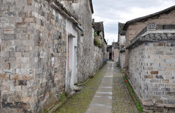 Китайские старинные здания стоковые изображения rf