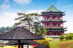 Китайские стародедовские здания local Стоковая Фотография RF