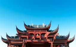 Китайские стародедовские здания local Стоковое Фото
