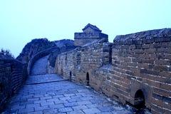 Китайские старые здания, Великая Китайская Стена Стоковая Фотография RF