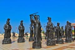 Китайские статуи стоковая фотография