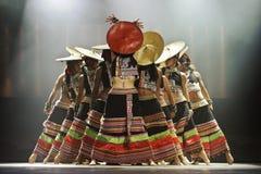 китайские танцоры национальные Стоковые Фото