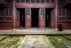 Китайские традиционные дома Стоковое фото RF