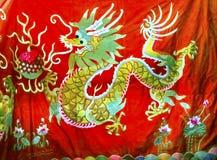 Китайские украшения блошинного Panjuan шелков реплики дракона Стоковая Фотография RF