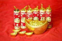 Китайские украшения Новый Год Стоковая Фотография
