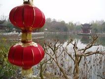 китайские фонарики стоковые фотографии rf