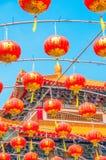 китайские фонарики Стоковое Изображение