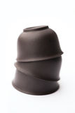 китайские чашки штабелировали чай Стоковое Фото