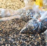 Китайские черные семена дыни стоковые фото