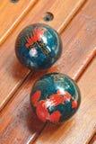 Китайские шарики массажа руки Стоковые Фотографии RF