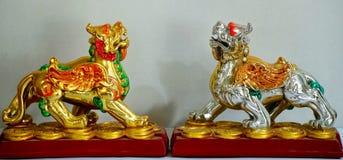 Китайские львы попечителя Стоковое Изображение