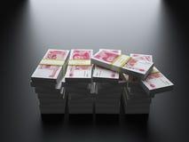 Китайские юани иен стоковые фото