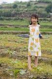 китайские детеныши девушки Стоковая Фотография RF