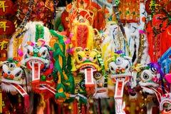 китайские драконы Стоковые Изображения