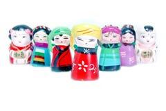 китайские figurines Стоковое фото RF