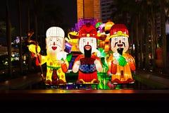 Китайские lanters Нового Года Стоковые Изображения