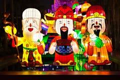 Китайские lanters Нового Года Стоковые Фото