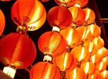 китайские lanters Стоковые Фотографии RF