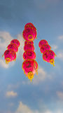 китайские lanters Стоковое фото RF
