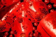 Китайские laterns Нового Года Стоковые Фотографии RF