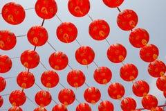 Китайские laterns Нового Года Стоковые Изображения