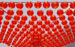 Китайские laterns Нового Года Стоковая Фотография RF