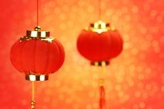 китайские laterns традиционные Стоковая Фотография