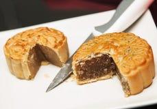 китайские mooncakes стоковое изображение rf
