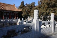 Китайские pavillions в летнем дворце, Пекин, Китай Это фото было принято 19-ого декабря 2017 Стоковое фото RF