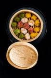 китайские raviolis Стоковые Изображения RF
