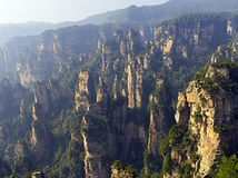 китайский ландшафт стоковое изображение rf