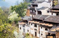 китайский архитектурный стиль дома Стоковое Фото