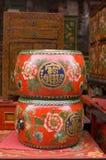 китайский барабанчик Стоковые Фотографии RF
