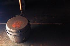 Китайский барабанчик Стоковое фото RF
