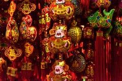 китайский бог удачи Стоковая Фотография