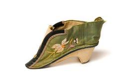 китайский ботинок повелительницы малый Стоковое фото RF