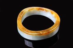 Китайский браслет нефрита Стоковое фото RF