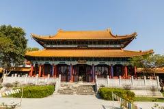 Китайский буддийский висок в Lumbini стоковые фото