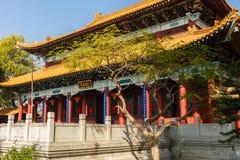 Китайский буддийский монастырь в Lumbini стоковые изображения