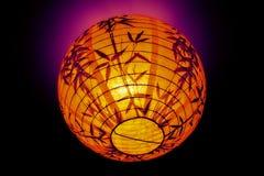 Китайский бумажный фонарик Стоковые Фото