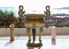 Китайский буддийский бак Стоковые Фото