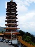 Китайский буддийский висок Стоковая Фотография