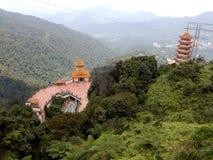 Китайский буддийский висок Стоковая Фотография RF