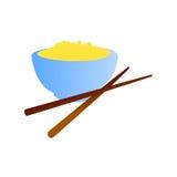 китайский вектор еды Стоковое Изображение RF