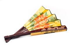 китайский вентилятор традиционный Стоковая Фотография