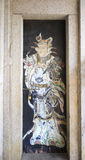 Китайский двер-бог Стоковые Изображения